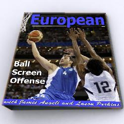 The European Ball Screen Offense E-BOOK